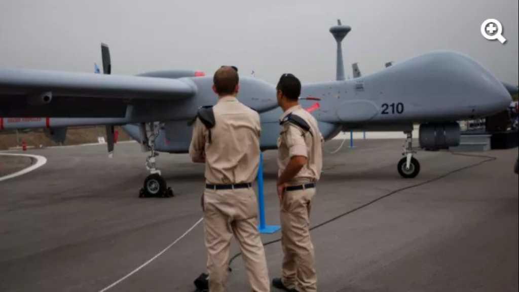 تحطم طائرة 'إسرائيلية' بدون طيار في البحر