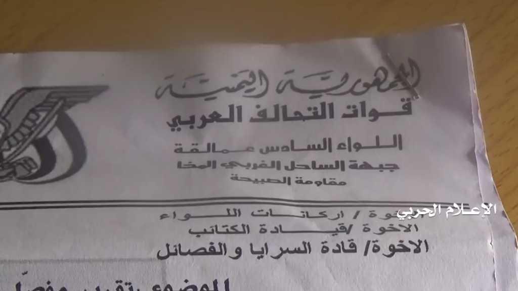 #بالفيديو | من تقدم #الجيش_اليمني و #اللجان_الشعبية في #الوازعية