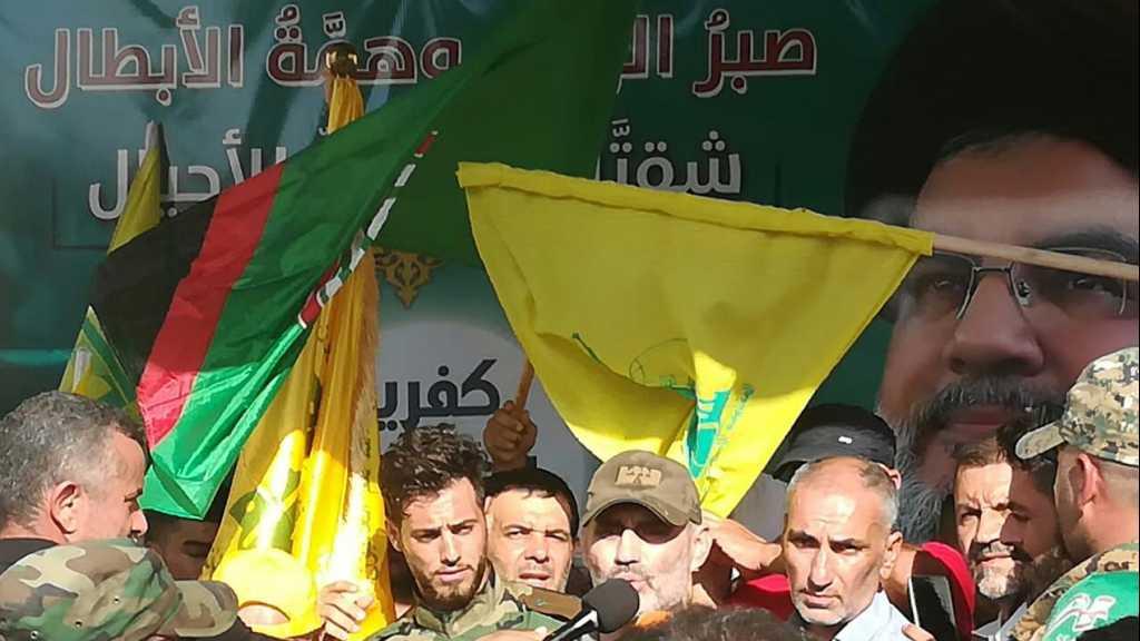 صور من إستقبال المقاوم محمد صفي الدين الذي خرج من بلدتي كفريا والف