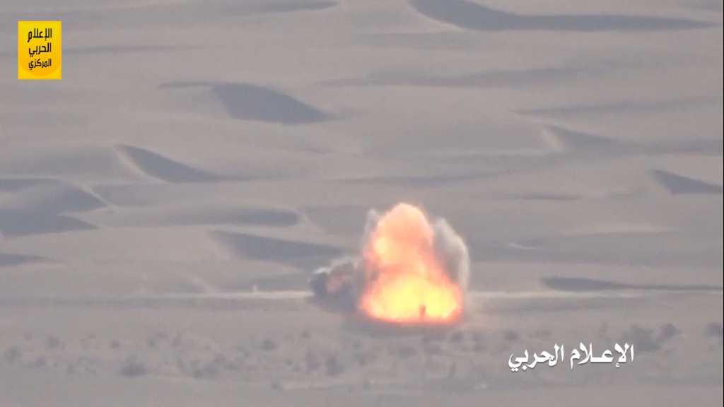 بالفيديو | كمين محكم يستهدف آليتين لقوى #تحالف_العدوان في #نجران
