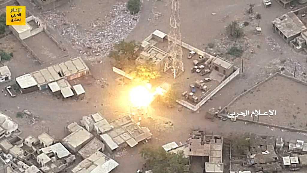 بالفيديو | عمليات نوعية لسلاح المدفعية في #الجيش_اليمني و #اللجان_الشعبية بمشاركة سلاح الجو المسير