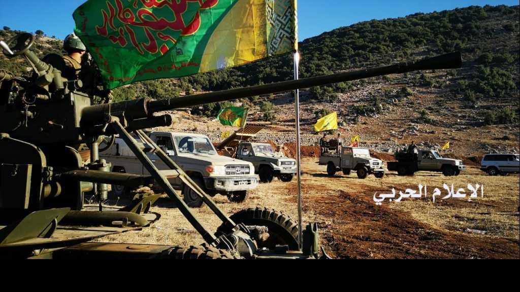بالصور... مجاهدو #المقاومة يحيون الثالث عشر من #محرم