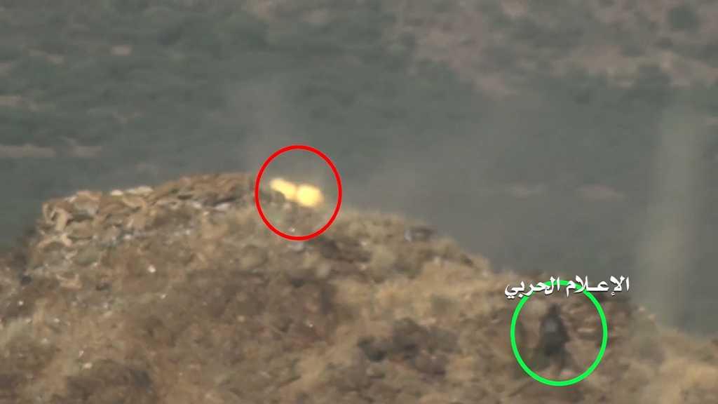 بالفيديو | مشاهد مميزة لعملية إقتحام #الجيش_اليمني و #اللجان_الشعبية أحد مواقع #الجيش_السعودي في #جيزان