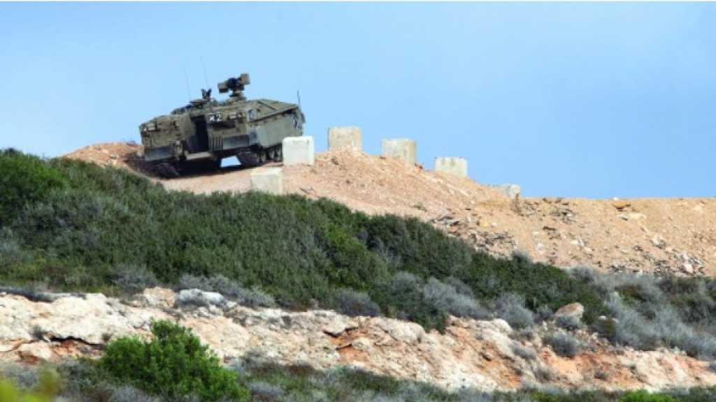 #العدو_الصهيوني يستحدث تلالاً إصطناعية عند #الحدود_اللبنانية مع #فلسطين المحتلة