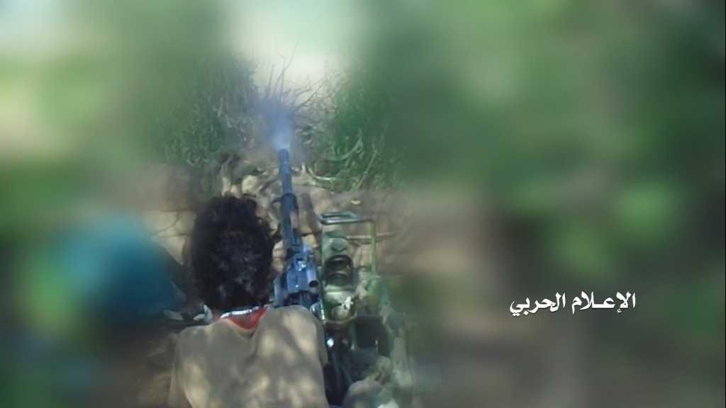 بالفيديو | إقتحام #الجيش_اليمني و #اللجان_الشعبية موقع مشعل العسكري السعودي في #جيزان