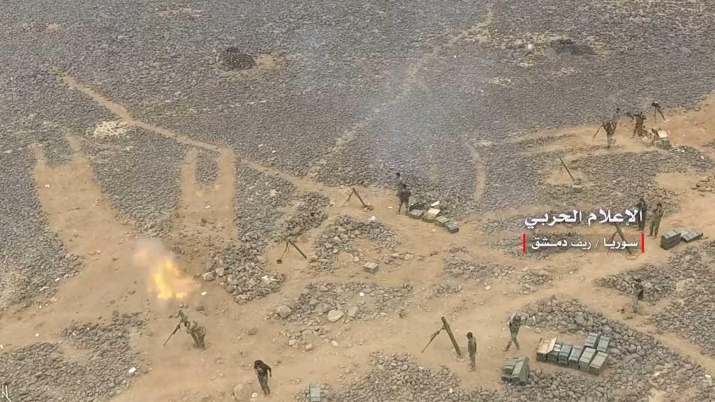 بالفيديو | #الجيش_السوري يواصل إستهداف مسلحي #داعش في عمق #البادية_السورية