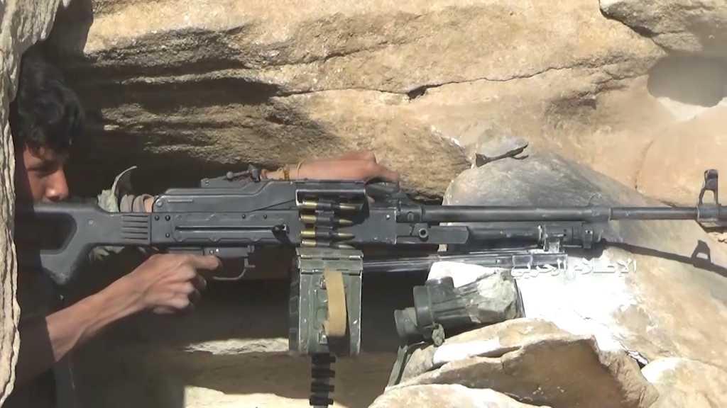 بالفيديو | #الجيش_اليمني و #اللجان_الشعبية يتصدون لهجوم مسلحي #تحالف_العدوان في #عسير