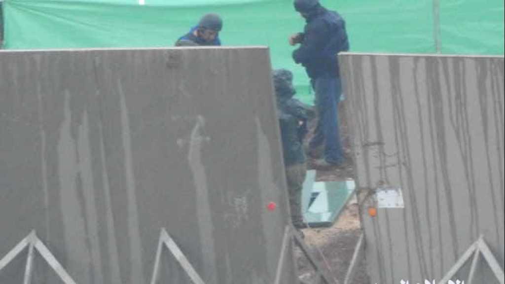 #العدو_الصهيوني يواصل عملية البحث عن أنفاقٍ مزعومة عند #الحدود_اللبنانية