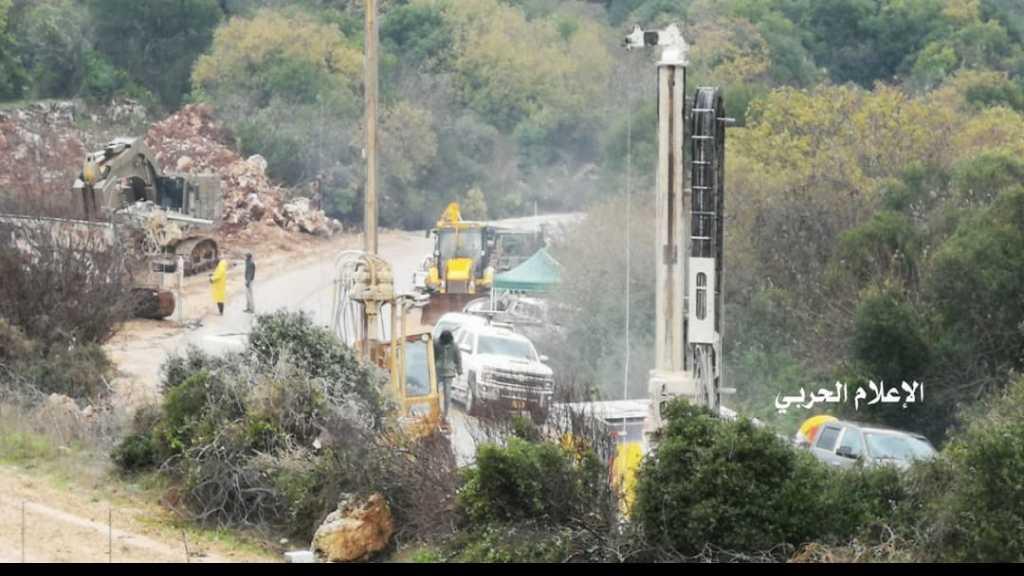 #العدو_الصهيوني يستحدث نقاط حفر جديدة مقابل بلدة #رامية عند #الحدود_اللبنانية