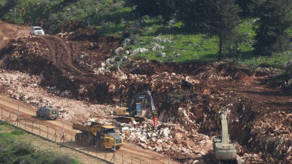 العدو الإسرائيلي يواصل الأعمال الهندسية عند #الحدود_اللبنانية