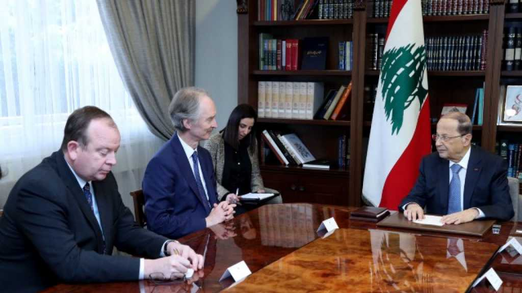 الرئيس #عون: شاركت دول عدة في الحرب على #سوريا وتريد أن تحملنا النتائج