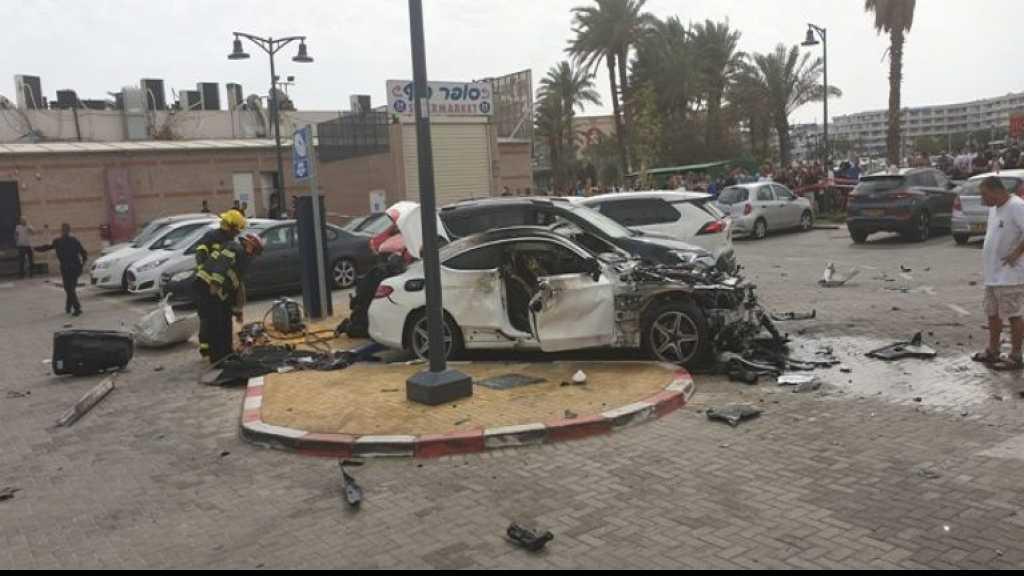 إنفجار سيارة جنوب #فلسطين_المحتلة