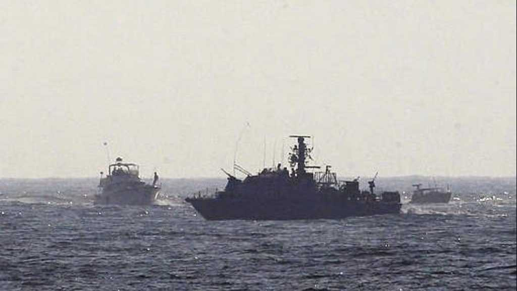 زوارق العدو الإسرائيلي تخرق المياه اللبنانية