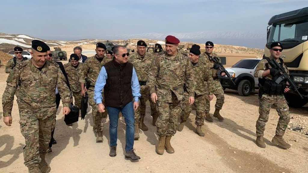 وزير الدفاع اللبناني من #جرود_عرسال: #مزارع_شبعا وتلال كفرشوبا لبنانية