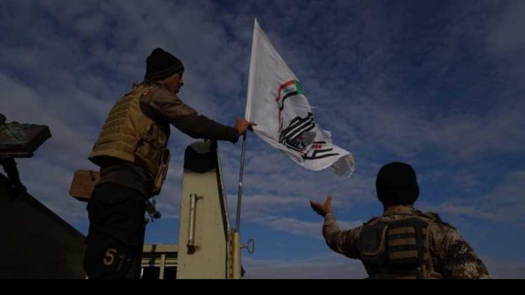 #الحشد_الشعبي والقوات الأمنية تنفذان عملية تطهير في جزيرة صلاح الدين