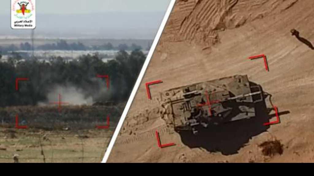 الطائرات المسيرة تجبر العدو الصهيوني على تزويد جنوده ببنادق جديدة