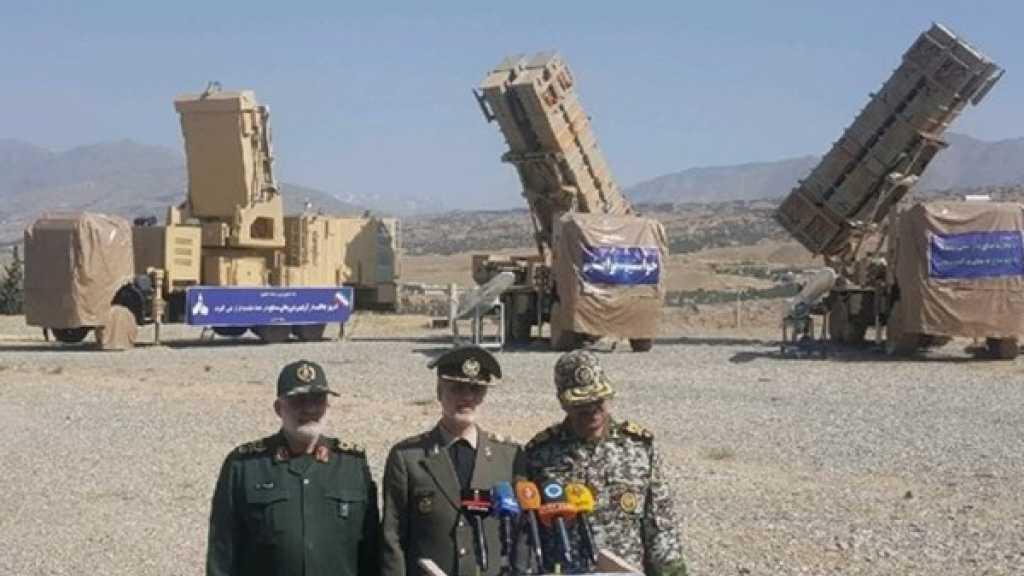 إزاحة الستار عن منظومة دفاع جوي ايرانية جديدة
