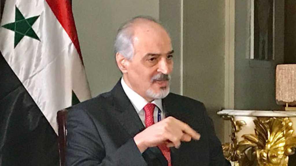 #الجعفري: سورية مستمرة في الدفاع عن أرضها ومواطنيها ومكافحة الإرهاب وإنهاء الوجود الأجنبي غير الشرعي