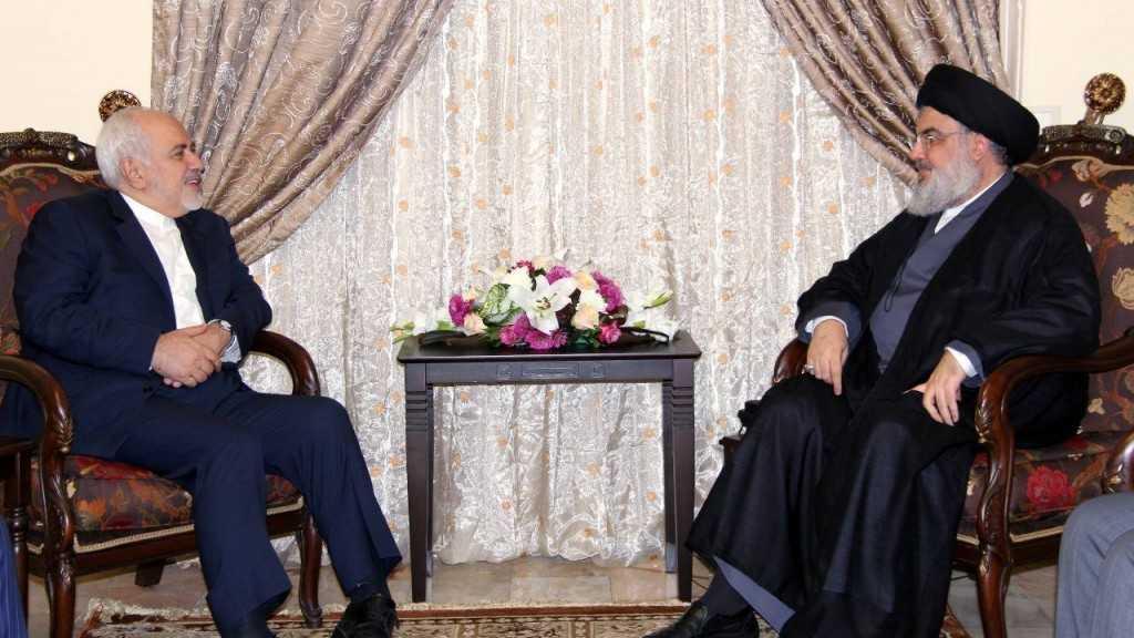 هذا ما جاء في برقية السيد نصرالله الى وزير الخارجية الايراني محمد جواد ظريف
