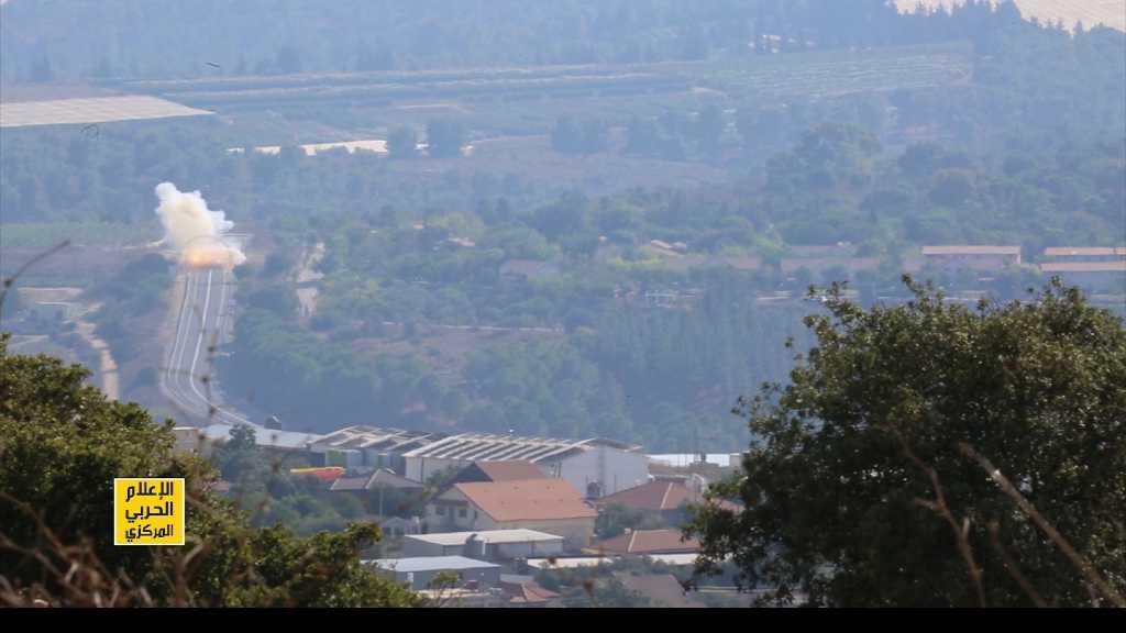 #المقاومة_الإسلامية تستهدف آلية عسكرية إسرائيلية قرب 'أفيفيم'
