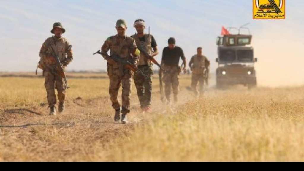 الحشد والقوات الامنية ينفذان عملية امنية كبيرة في الصحراء الغربية لتمشيطها والقضاء على خلايا داعش النائمة
