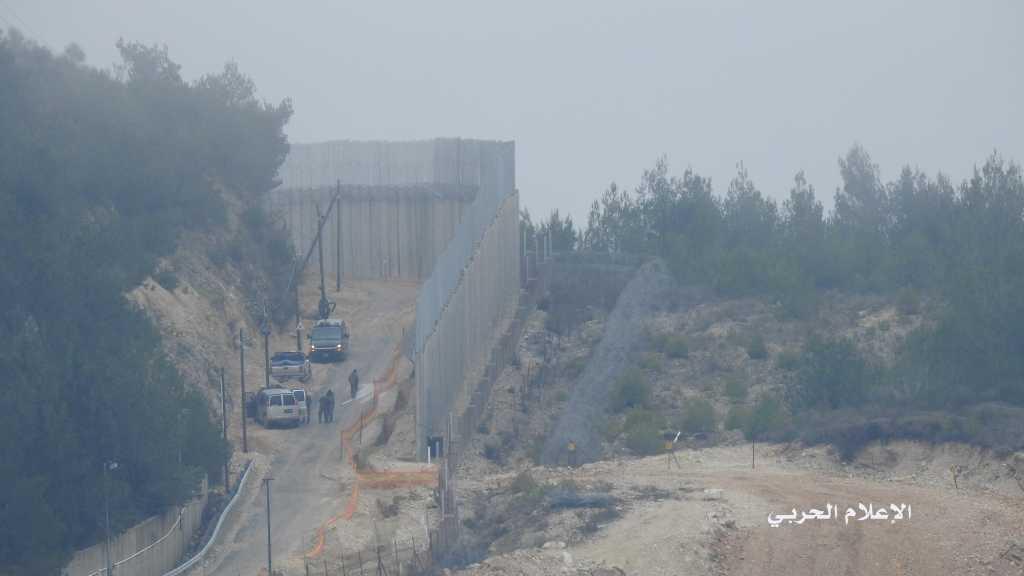 العدو الإسرائيلي يبدأ أعمال حفر مقابل بلدة العديسة جنوب لبنان