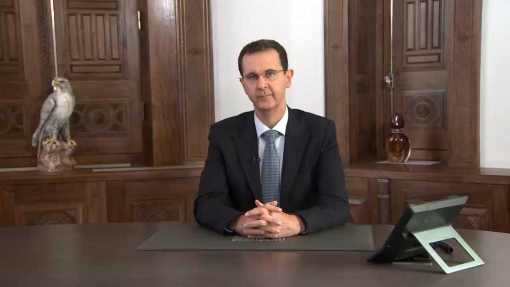 بالفيديو | الرئيس الأسد: معركة تحرير ريف حلب وإدلب مستمرة بغض النظر عن بعض الفقاعات الصوتية الفارغة
