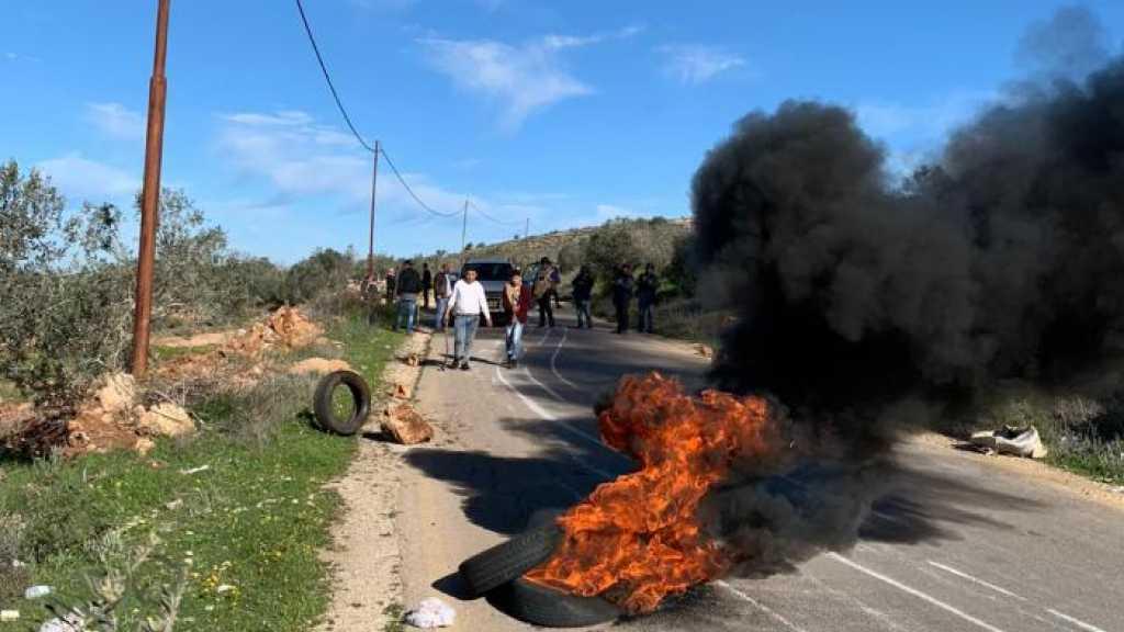 مواجهات مع الاحتلال الاسرائيلي في الضفة الغربية