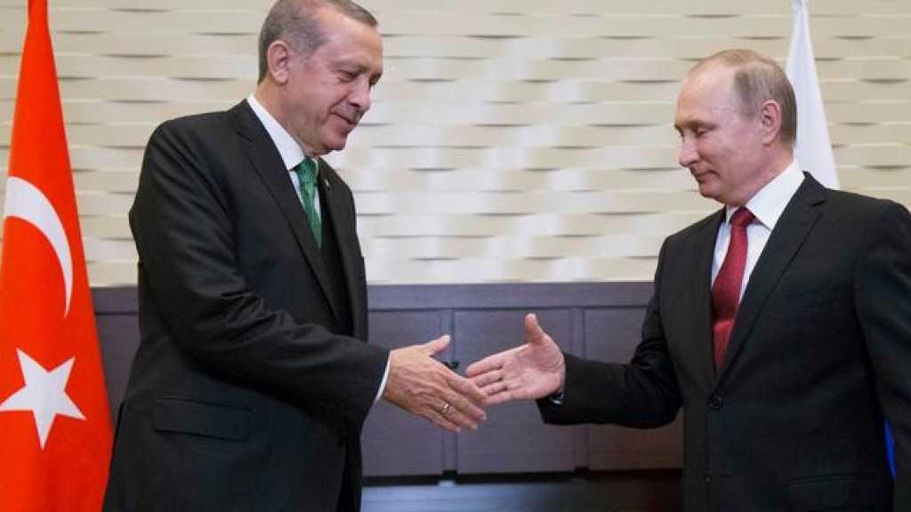 اردوغان خلال لقائه بوتين يؤكد ان المباحثات ستخفف الوضع في ادلب
