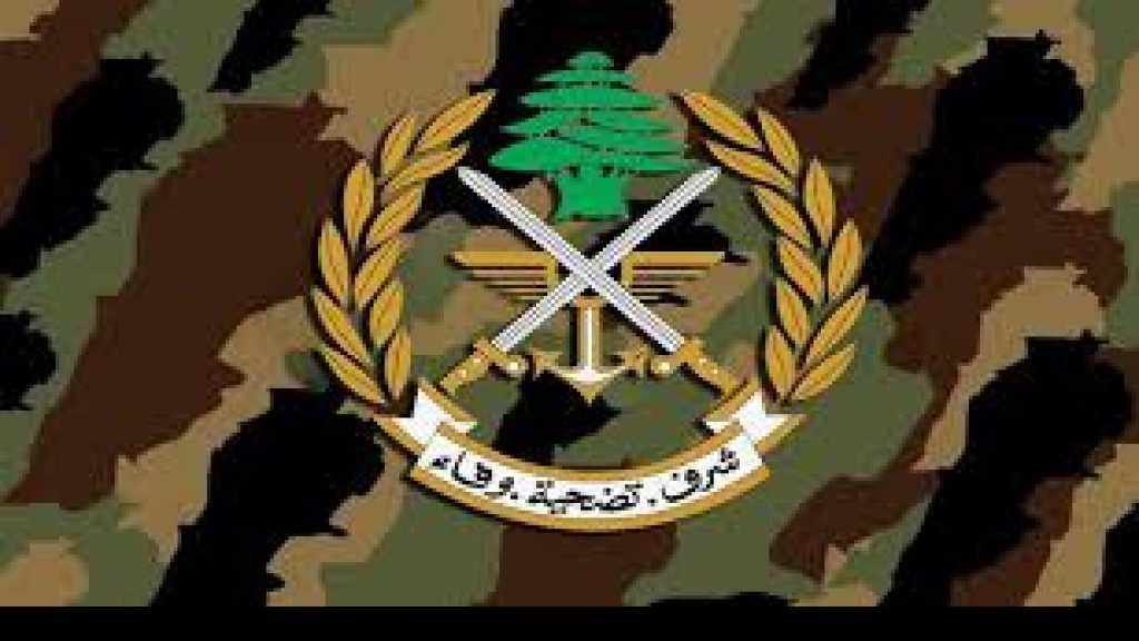 الجيش اللبناني: لا صحة لحصول إشكال بين الجيشين اللبناني والسوري