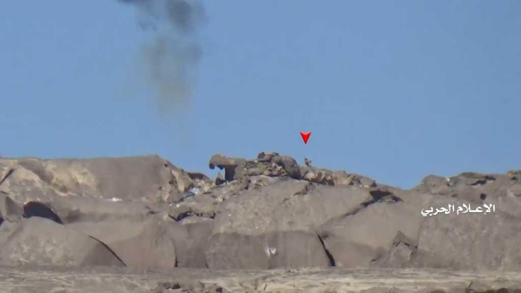 بالفيديو | عملية اغارة على مواقع تحالف العدوان غرب الشبكة في نجران