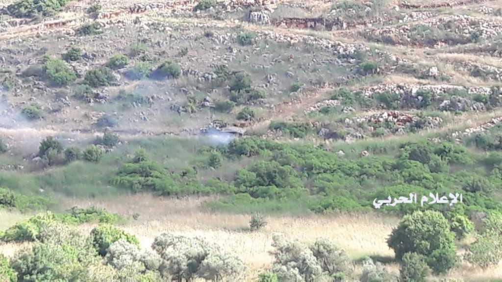 بالفيديو | العدو الإسرائيلي يتخطى السياج التقني مقابل ميس الجبل