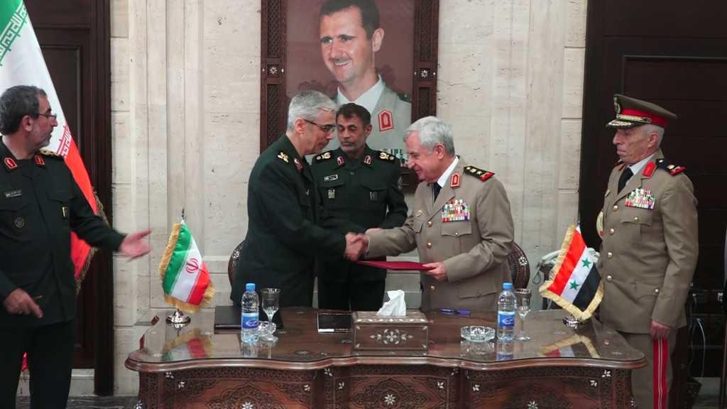 دمشق وطهران توقعان اتفاقية شاملة للتعاون العسكري بين البلدين