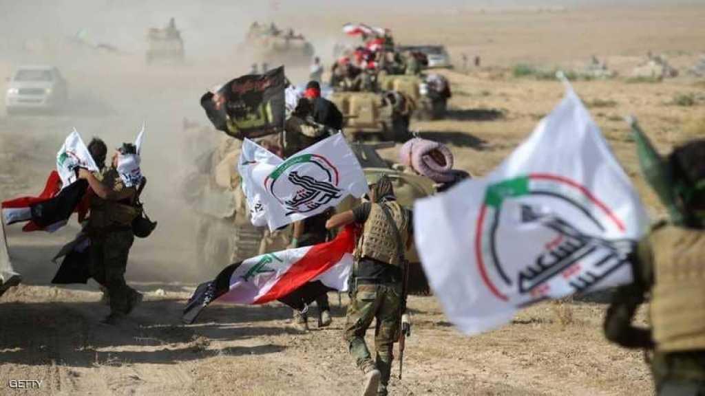 اللواء الأول في الحشد يطهر 75 كم2 شمال ديالى ويفجر خمس عبوات ناسفة