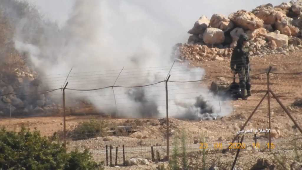 بالفيديو | جيش العدو الإسرائيلي ينفذ تهديده ويتصدى للمقاومة الإسلامية بـ 'حزم وتصميم'!!