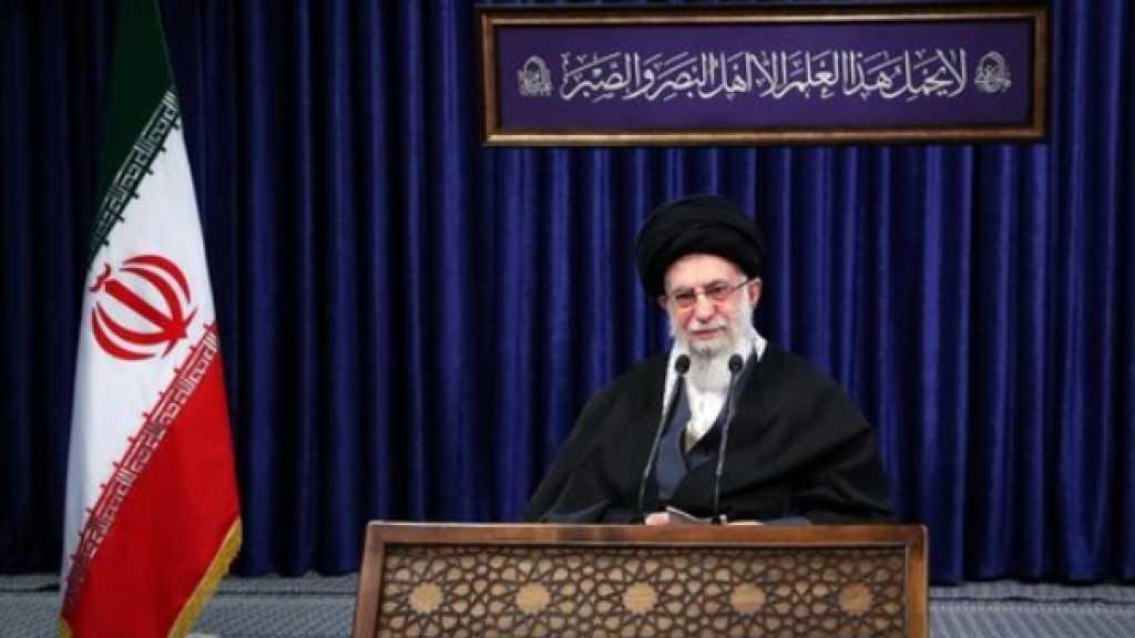 الامام الخامنئي: 'داعش' ازيل بفضل تواجد ايران في المنطقة