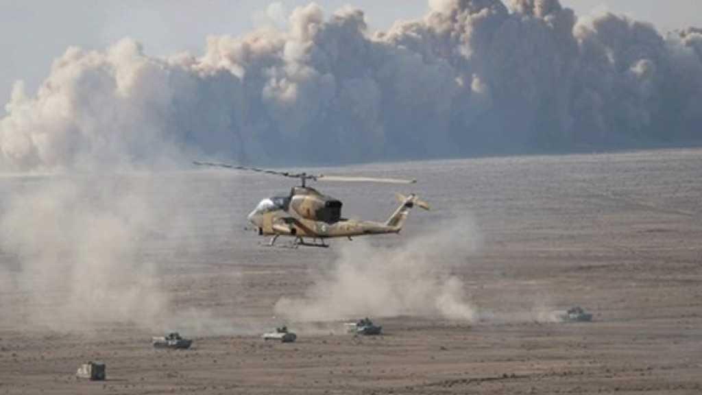 إنطلاق مناورات القوة البرية للجيش الايراني في جنوب شرق ايران