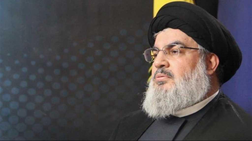 السيد نصرالله يبعث رسالة تعزية إلى الإمام الخامنئي بوفاة العميد السيد محمد حجازي