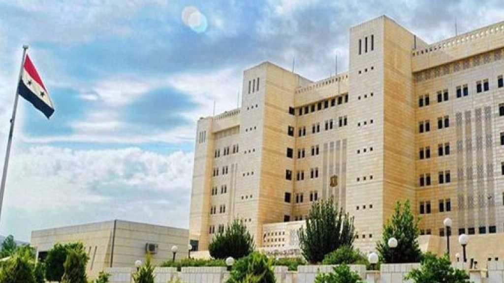 الخارجية السورية تدعو الأمم المتحدة لإدانة العدوان الإسرائيلي على محيط دمشق