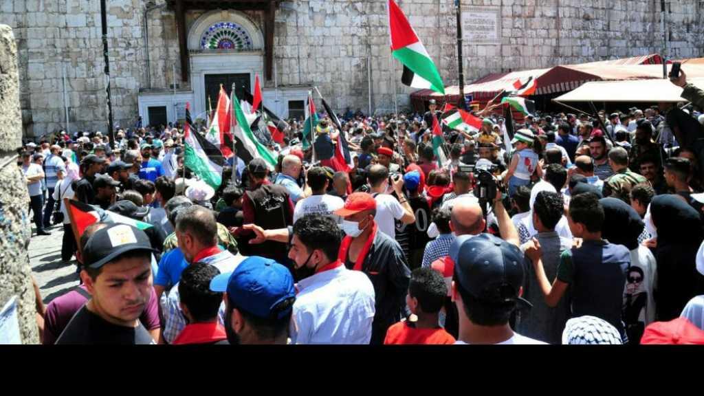 المشاركون في إحياء يوم القدس العالمي بدمشق: لا خيار لمواجهة كيان الاحتلال إلا بالمقاومة بكل أشكالها