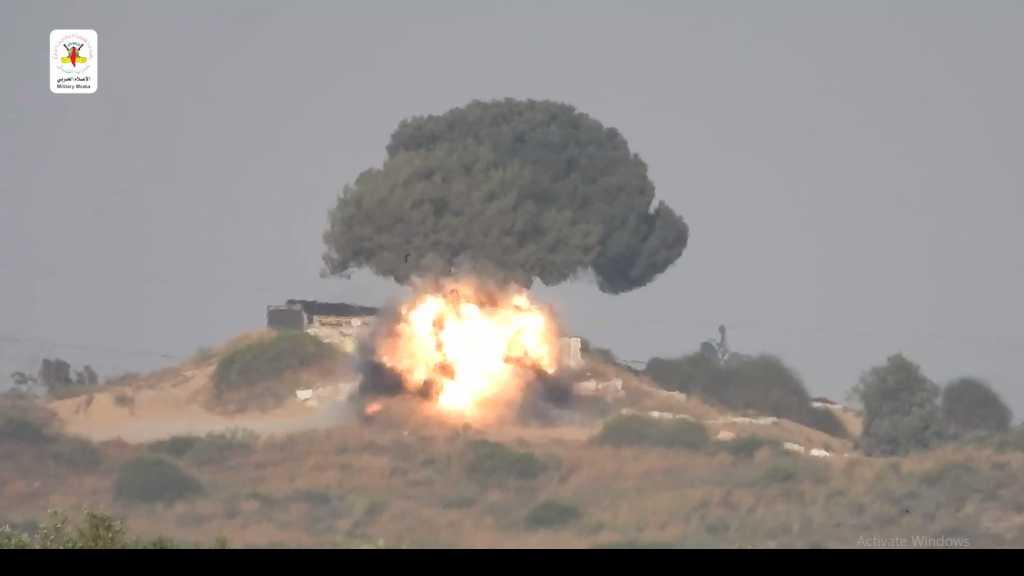 بالفيديو | سرايا القدس تستهدف جيب صهيوني بصاروخ كورنيت شرق غزة
