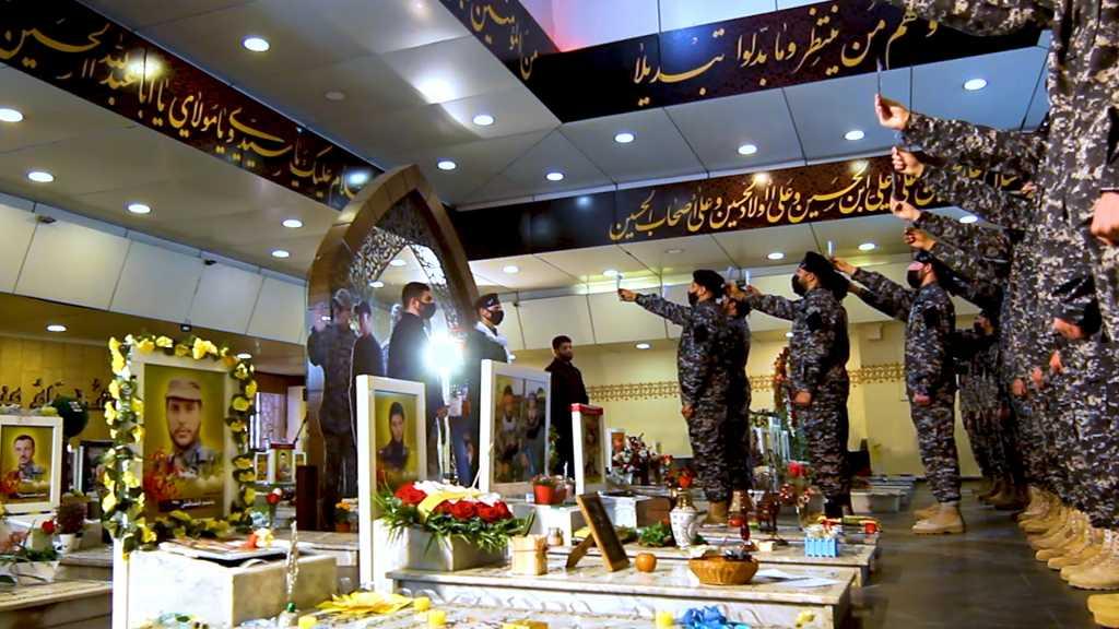 بالفيديو | مجاهدو المقاومة الإسلامية عند ضريح القائد الجهادي الكبير السيد ذو الفقار