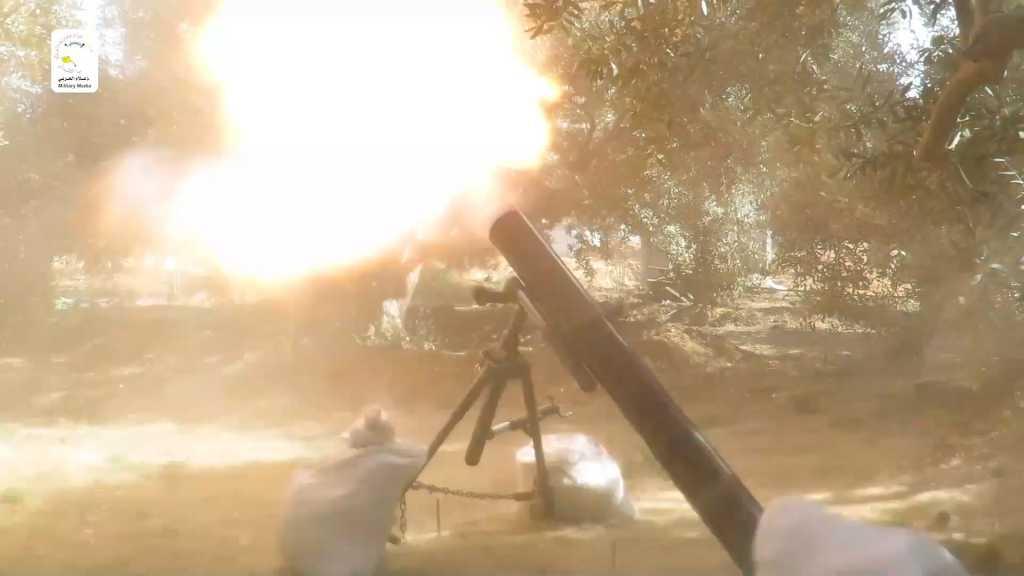 بالفيديو | سرايا القدس تستهدف مواقع العدو الإسرائيلي في غلاف غزة