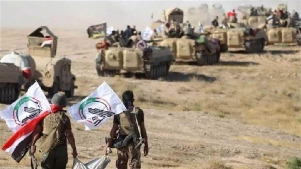 الحشد الشعبي والقوات الأمنية ينفذان عملية امنية في صلاح الدين