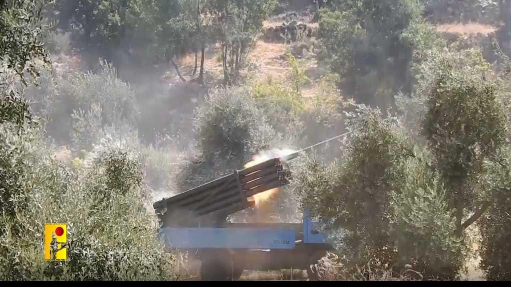 بالفيديو | المقاومة الإسلامية ترد على اعتداءات العدو الصهيوني على لبنان