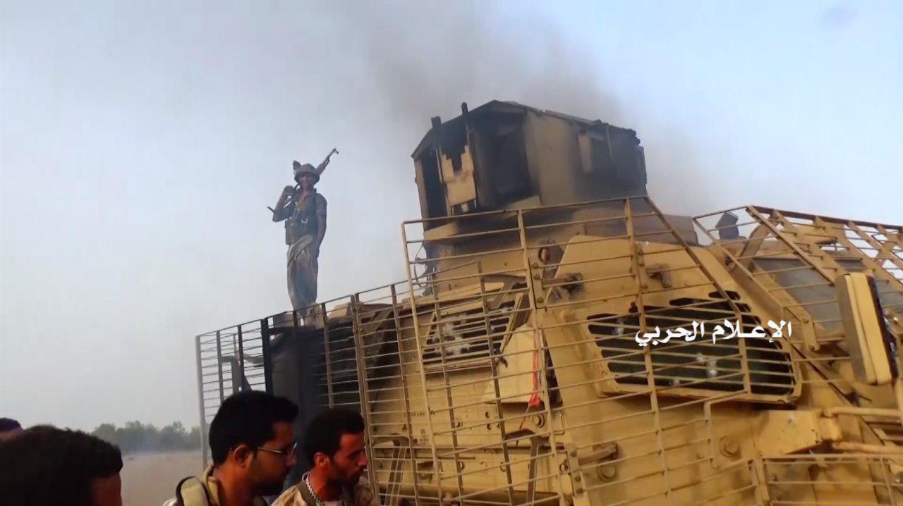خسائر مرتزقة العدوان السعودي